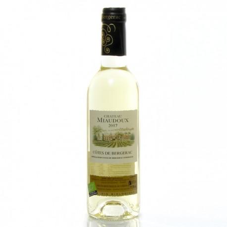 Château Miaudoux AOC Côtes De Bergerac Moelleux Bio 2017 37,5cl