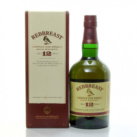 Whisky Irlande Redbreast 12 ans Single Pot Still Whiskey 40° 70cl