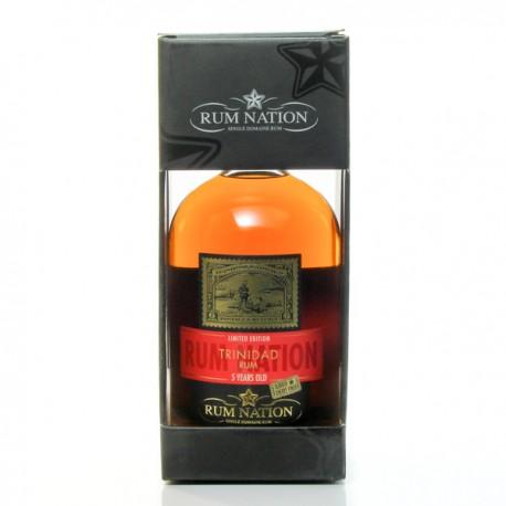 Rhum Nation 5 ans Sherry Finish Oloroso Trinidad Rum 40° 70cl