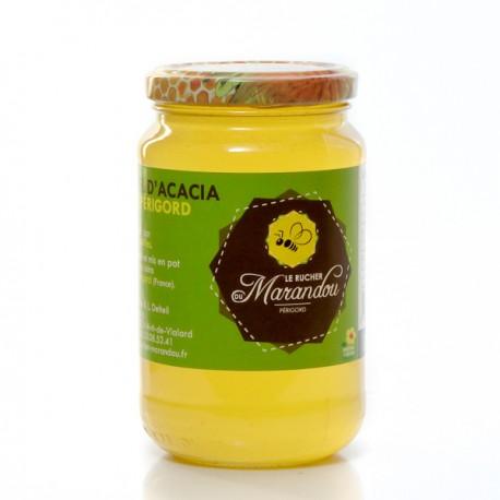 Miel d'acacia du Rucher du Marandou 500g