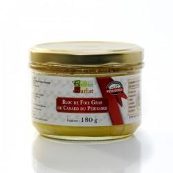 Bloc de Foie Gras de Canard IGP Périgord Bocal 180g