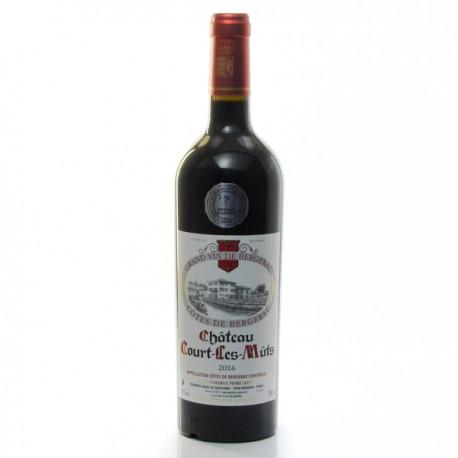 Château Court Les Muts AOC Côtes De Bergerac Rouge 2016 75cl