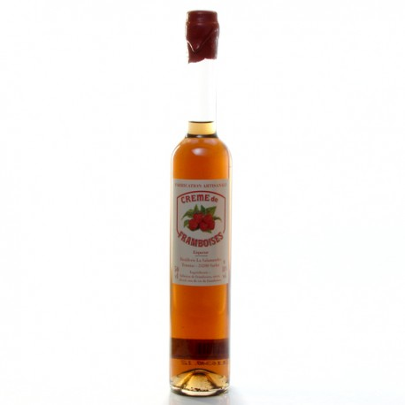 Crème de Framboises 18° Distillerie La Salamandre, 50cl