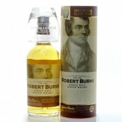 Whisky Ecosse Robert Burns + coffret 1 verre Single Malt Scotch 43° 70cl