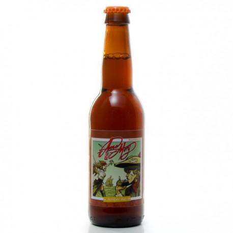 Bière Artisanale du Périgord Amber Ale Brasserie Rocmol 33cl