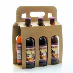 Pack de 6 bières American Pale Ale artisanales de la Brasserie Roc Mol - 6 x 33cl
