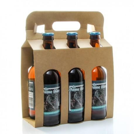 Pack de 6 bières American Wheat Beer artisanales de la Brasserie Roc Mol - 6 x 33cl