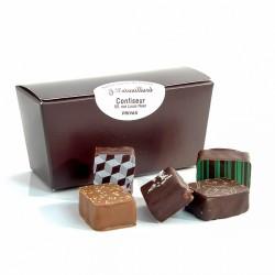 Ballotin de chocolats fins assortis MOF JF Patouillard 100g