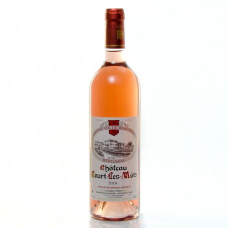Château Court les Muts AOC Bergerac Rosé 2018, 75cl