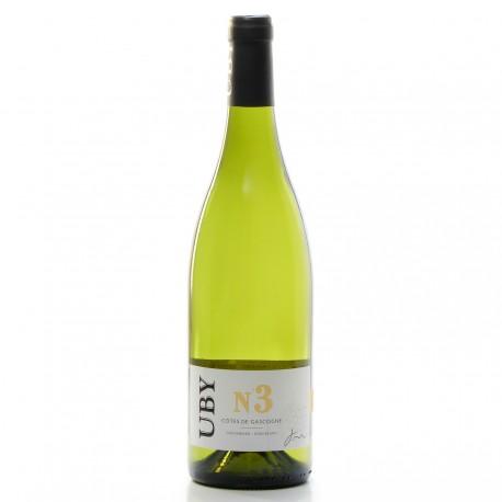 Domaine UBY Colombard Ugni Blanc N°3 IGP Côtes de Gascogne 2018 75 cl