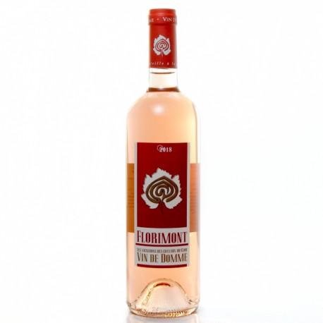 Vin de Domme Rosé Florimont IGP Vin de Pays du Périgord 2018, 75cl
