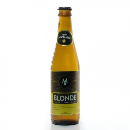 Bière blonde Brasserie Michard 33cl
