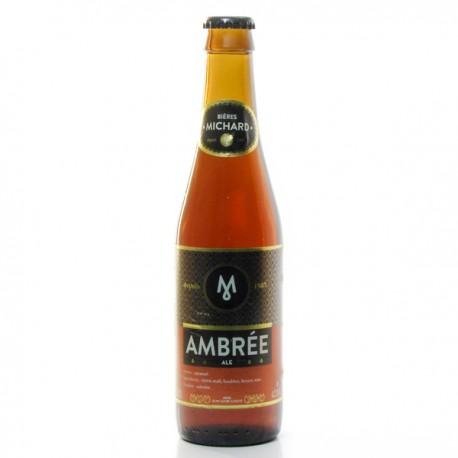 Bière Ambrée Brasserie Michard 33cl
