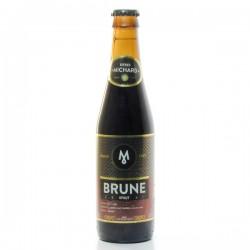 Bière Brune Brasserie Michard 33cl