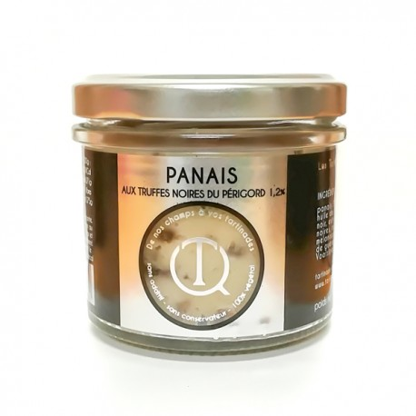 Tartinade de panais aux truffes Noires du Périgord 100g