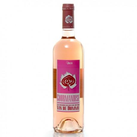 Vin de Domme Rosé - Cuvée Gourmandise - IGP Vin du Périgord 2018 75cl