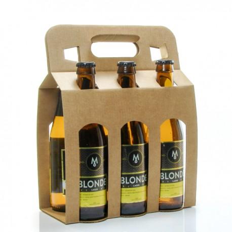 Pack de 6 bières blondes Brasserie Michard 6 x 33cl