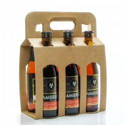 Pack de 6 bières ambrées Brasserie Michard 6 x 33cl