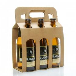 Pack de 6 bières blanches Brasserie Michard 6 x 33cl