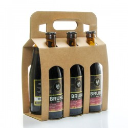 Pack de 6 bières brunes Brasserie Michard 6 x 33cl