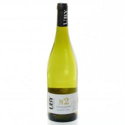 Domaine UBY Chenin Chardonnay n°2 IGP Côtes de Gascogne Blanc 2018 75cl