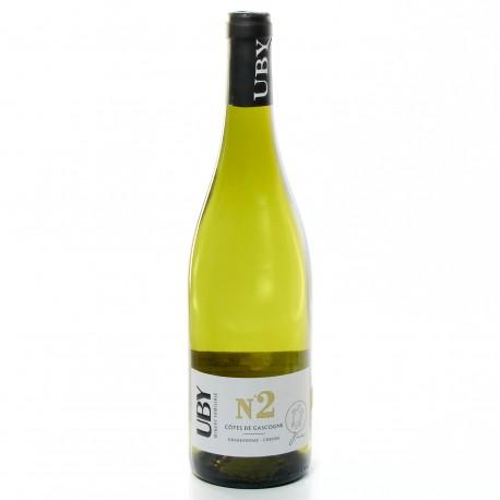 Domaine UBY Chenin Chardonnay n°2 IGP Côtes de Gascogne Blanc 2018