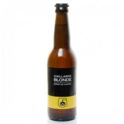 Bière blonde artisanale Brasserie Gaillarde, 33cl