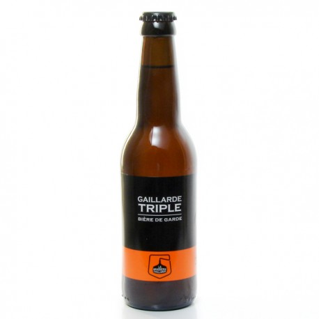 Biere triple brasserie gaillarde 33cl