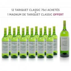 12 Tariquet Classic 75cl + 1 Magnum de Classic Offert