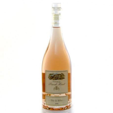 Château Puech Haut Cuvée Tête de Bélier AOP Languedoc Rosé 2018 75cl