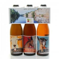 Tripack Bières Artisanales La Léchouille 3x33cl