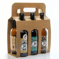 Pack de 6 bières Brassée 24 Mixte Saveurs Brasserie Artisanale de Sarlat 6x33cl