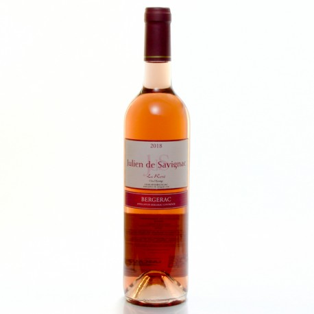 Julien de Savignac AOC Bergerac Rosé 2018 75cl
