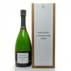 Champagne Bollinger Grande Année 2008 AOC Champagne Brut 75cl :