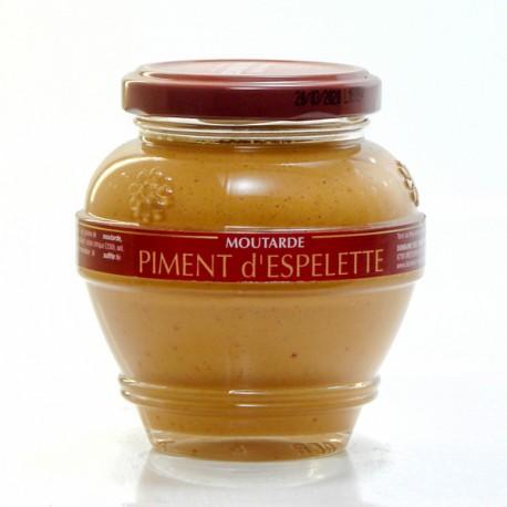 Moutarde au Piment d'Espelette 200g