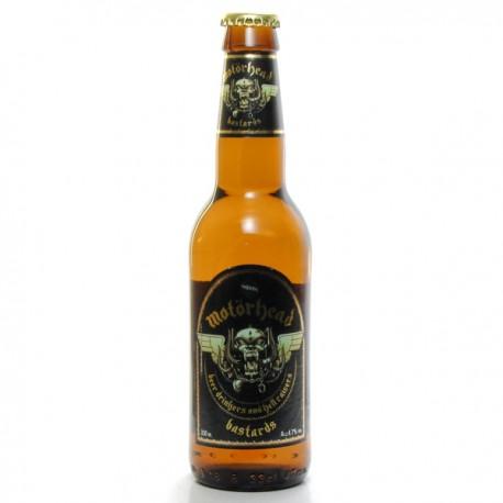 Bière Suède Motorhead Bastards Blonde 33cl