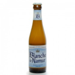 Bière Belgique Blanche de Namur Blanche 25cl