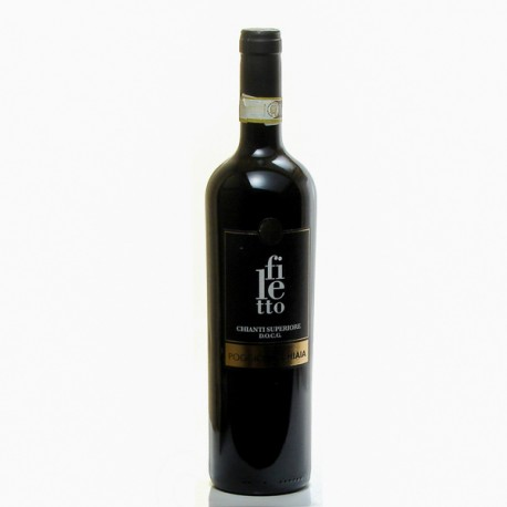Nicchiaia Chianti Filetto Italie Toscane Rouge 2017 75cl