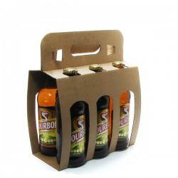 Pack de 6 Bières de l'île de la Réunion Dodo Bourbon 33cl x 6