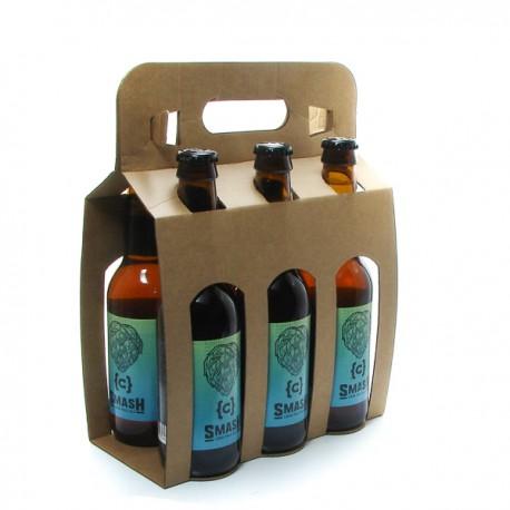Pack de 6 Bières Belgique Smash Blonde 33cl x 6