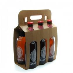 Pack de 6 Bières Belgique Corsendonk Rousse 33cl x 6