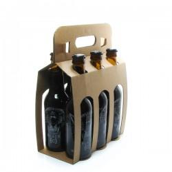 pack de 6 bières Belgique Black C Noire 6 x 33cl