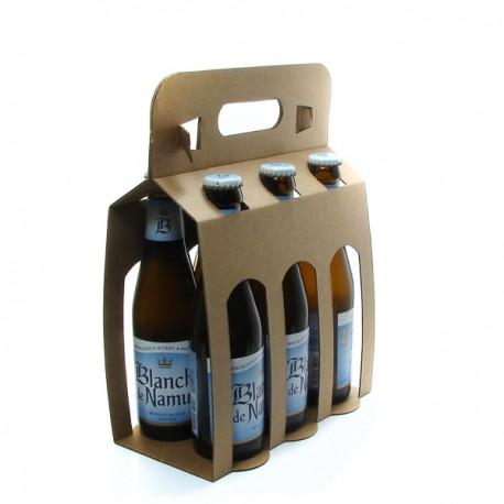 Pack de 6 Bières Belgique Blanche de Namur Blanche 25cl