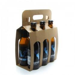 Pack de 6 Bières Belgique Lupulus Hopera Blonde 6 x 33cl
