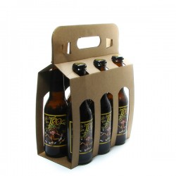 Pack de 6 bières de Belgique Cuvée des Trolls Blonde 6 x 25cl