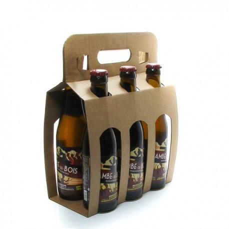 Pack de 6 bières