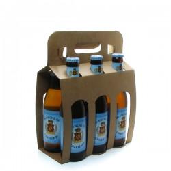 Pack de 6 bières de Belgique La Blanche de Charleroi