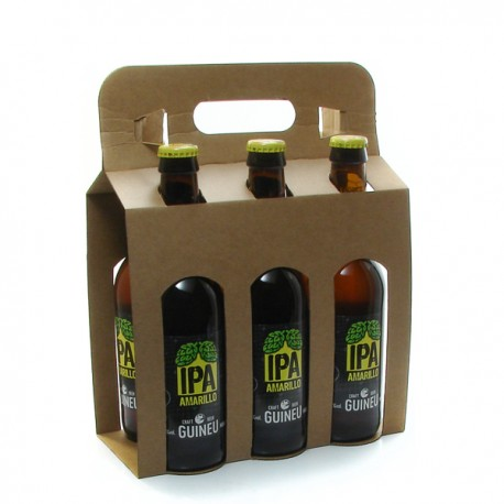 Pack de 6 Bières Espagne Guineu IPA Amarillo 6 x 33cl