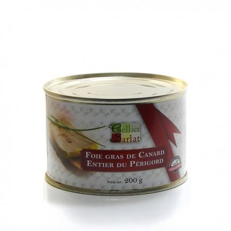 Foie gras de Canard Entier IGP Périgord 200g
