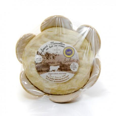 Saint Marcellin (au lait cru entier de vache 24% MG sur produit fini)